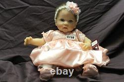 (0268) Linda Murray Pretty as a Princess So Truly Real Baby Doll COA