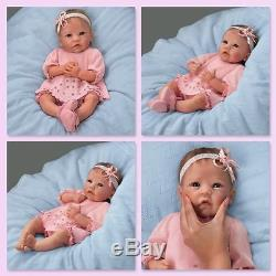 0302592001 Ashton Drake Claire Silicone Lifelike Baby Doll by Linda Murray 18