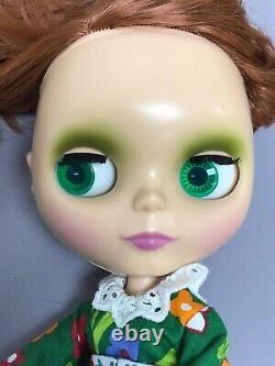 11 Vintage Ashton Drake Reproduction Neo Blythe Redhead Flower Power 1 Big Eyes