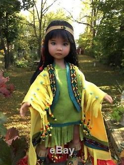 12 Ashton Drake Tiny Fancy Shawl Dancer Repaint Sculpt By Dianna Effner