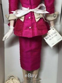 16 Ashton Drake Gene Doll Meet Me In Paris Paris Convention Hot Pink Outfit U