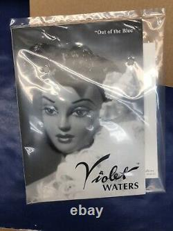 16 Ashton Drake Gene Doll Violet Waters Out Of The Blue Elegant Gown NRFB #U
