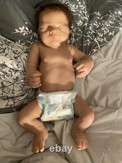 17 Baby Boy Ashton Drake Anatomically Correct Doll So Truly Real Linda Webb