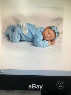 18'' Twinkle Twinkle Little Star Breathing Lifelike Ashton Drake Baby Doll New
