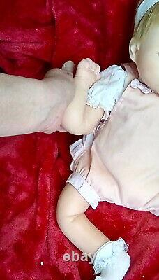 19 Ashton drake AFFORDABLE Silicone NOT VINYL baby girl doll SEE ALL Poses VGUC