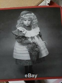 1995 Ashton Drake Dianna Effner Hilary 14 doll porcelain NIB