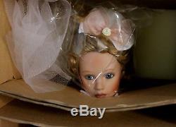 2001 Ashton Drake Artist Adrienne Brown 19 Paulette Bride #94567 Doll NIB COA