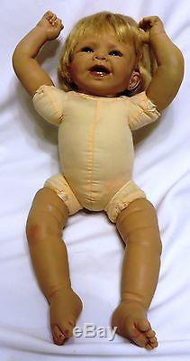 2003 24 Ashton-Drake So Truly Real Vinyl & Cloth FAITH Doll by Bonnie Chyle