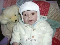 2006 Huti B Ashton Drake Galleries So Truly Real 21 Baby Boy Doll