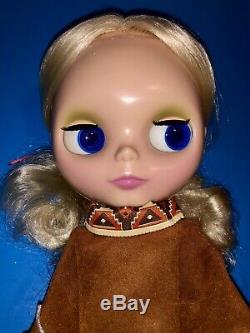 2007 Ashton Drake Pow Wow Poncho Blythe Doll Like New MIB