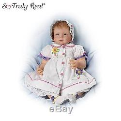 21-Inch Baby Real Girl Reborn Doll by Ashton Drake Galleries For collectors