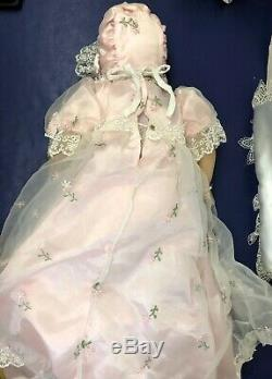 23 Ashton Drake Galleries So Truly Real Blonde Baby Girl WithRosary With Box