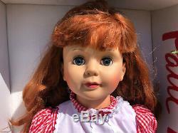 35 IDEAL by Ashton Drake PATTI PLAYPAL DOLL Reddish Brown Hair