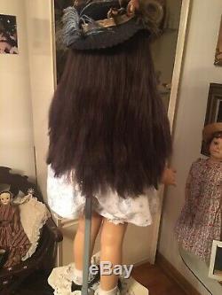 35 PATTI PLAYPAL DOLL ashton drake REISSUE OF IDEAL! Thick VERY LONG DARK HAIR