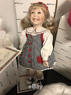 6 RARE Ronald Ashton Drake McDonald's Mcmemories Porcelain Doll Lot Collection