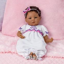 A Sister's Love Set So Truly Real Lifelike African-American Ashton Drake Dolls