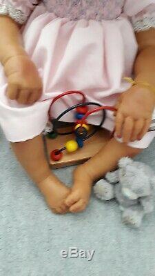 AA Ethnic Ashton Drake baby doll Lorna Miller Sand's Destiny RARE, retired