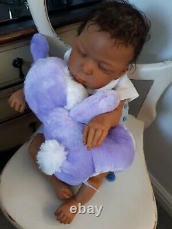 AA Ethnic Baby Doll Deshawn by Lorna Miller Sands & Ashton Drake