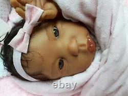 AA ethnic Baby Doll Destiny, Lorna Miller Sands Ashton Drake