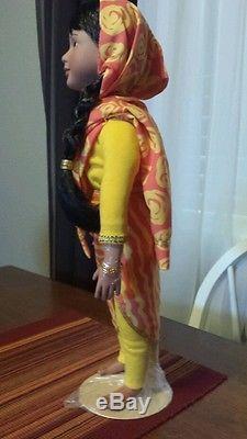 ASHA India Doll Passport to Friendship 1996 Ashton-Drake Collectible