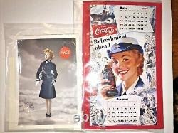 ASHTON DRAKE GENE MARSHALL Navy Waves Doll Coca Cola Calendar Girl Mel Odom NEW