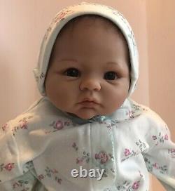 ASHTON DRAKE LINDA MURRAY REBORN BABY DOLL REAL FEEL WEIGHTED GIRL, Anatomically