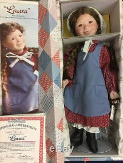Ashton Drake Little House On The Prairie Porcelain Doll Lot