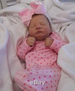 ASHTON DRAKE Linda Webb Welcome Home Baby Doll Light Enhancements Not Reborn