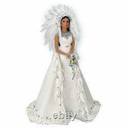 ASHTON DRAKE Native-American WINONA BRIDE DOLL THE ETERNAL SPIRIT BY SANDRA BILO