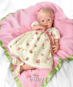 Ashton Drake So Truly Real Lily Rose Silicone Baby Doll By Michelle Fagan