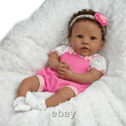 ASHTON DRAKE SO TRULY REAL TASHA SILICONE BABY DOLL 18 BY Linda Murray