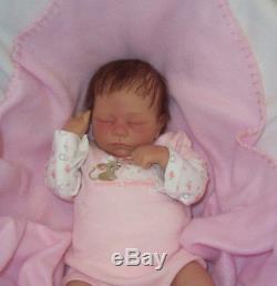 ASHTON DRAKE So Truly Real ASHLEY Breathing Baby Doll Andrea Arcello Reborn