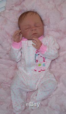 ASHTON DRAKE So Truly Real CHERISH Lifelike Baby Doll by Denise Farmer Enhanced