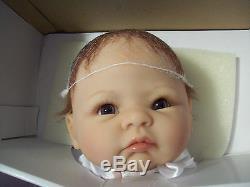 ASHTON DRAKE So Truly Real LITTLE GRACE Lifelike all VINYL Baby Doll NEW