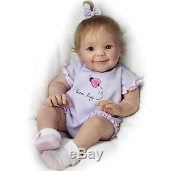 ASHTON DRAKE So Truly Real LITTLE LOVE BUG Lifelike Baby Doll NEW