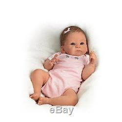 ASHTON DRAKE So Truly Real LITTLE PEANUT Baby Doll NEW