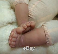 ASHTON DRAKE So Truly Real Linda Webb Welcome Home Baby Emily as a Baby Boy COA