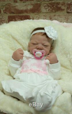 ASHTON DRAKE So Truly Real Linda Webb Welcome Home Emily Baby Girl Paci COA