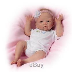 ASHTON DRAKE So Truly Real SNUGGLE BUNNY Baby Doll NEW
