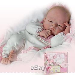 Ashton Drake Welcome Home Baby Girl Baby Doll By Tasha Edenholm