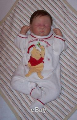 ASHTON DRAKE Waltraud Hanl Rock-a-Bye Avery So Truly Real Doll Enhanced Reborn