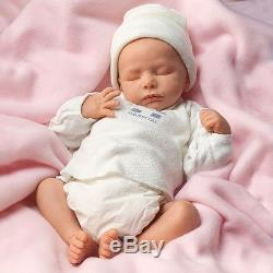 Andrea Arcello Ashley Breathing Lifelike Baby Doll So Truly Real 17 by Drake
