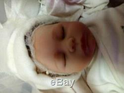 Ashley Breathing Lifelike Baby Doll So Truly Real 17 by Ashton Drake
