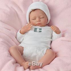 Ashley Breathing Lifelike Baby Doll So Truly Real 17 by Ashton Drake NRFB