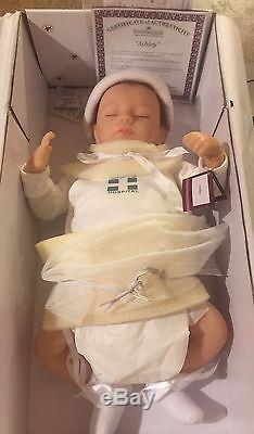 Ashley Breathing Lifelike Baby Doll So Truly Real 17 by Ashton Drake New