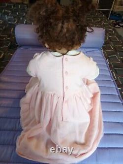 Ashton Drake 24 African A. Fully Poseable Toddler Beautiful Gift Box Opening