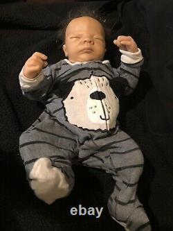 Ashton Drake A. D. G. 04 Lifelike Newborn Baby Boy 18 1/2'' long
