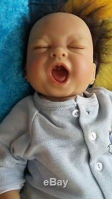 Ashton Drake A. D. G Baby Newborn Doll Lifelike Feels Like Real Wire Posable Mint