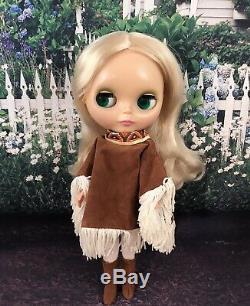 Ashton Drake ADG Pow Wow Poncho Blythe Doll Authentic Blythe