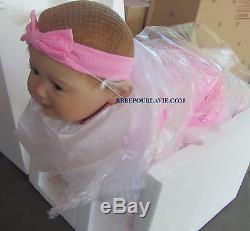 Ashton Drake AUBREY'S CRAWLING Interactive baby doll by Ping Lau